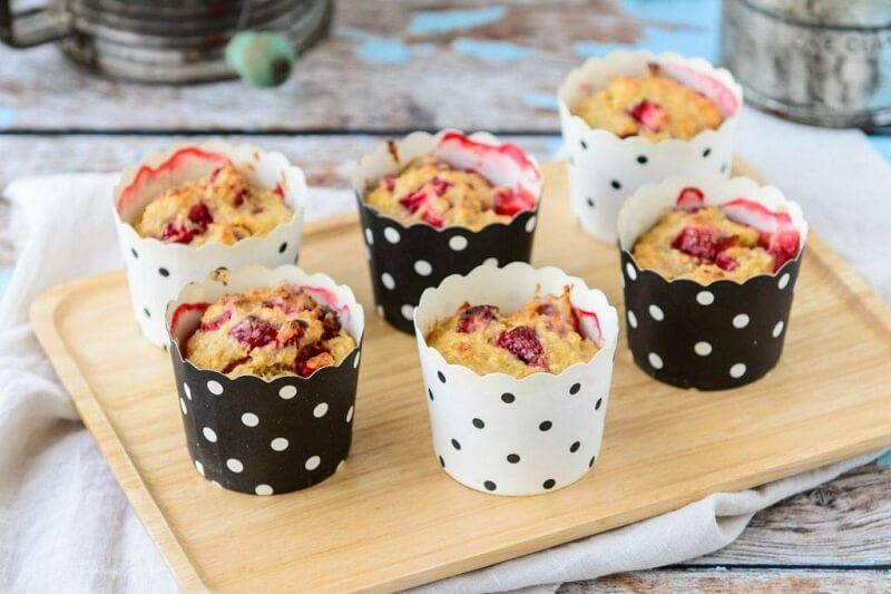 Banana-Berry-Muffins