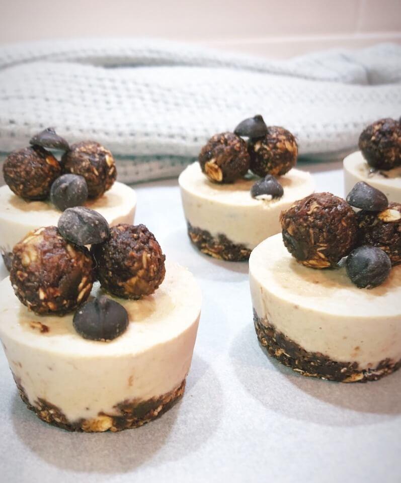 Healthy-Choc-Chip-Mini-Cheesecakes