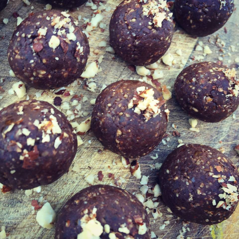 Healthy Nutella Bliss Ball