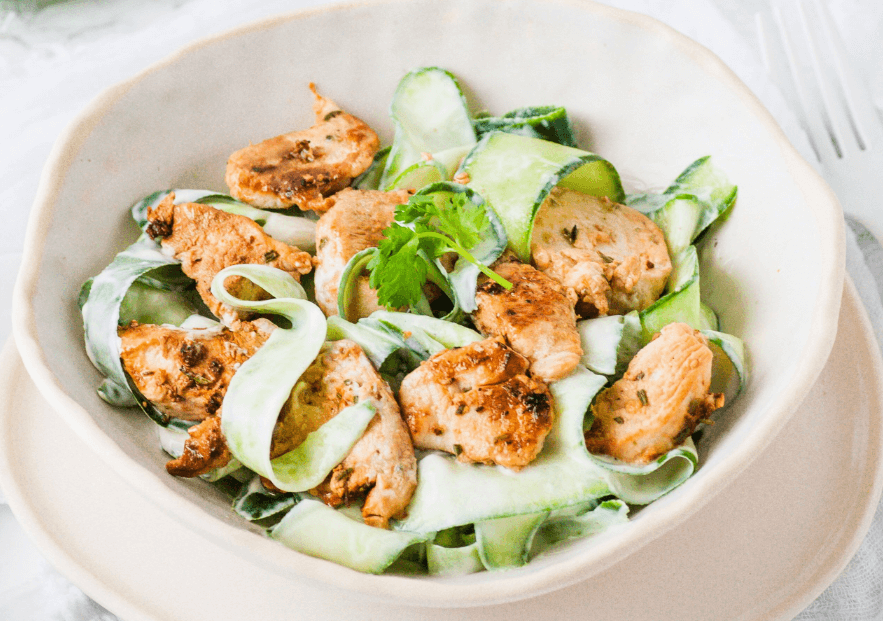 chicken-cucumber