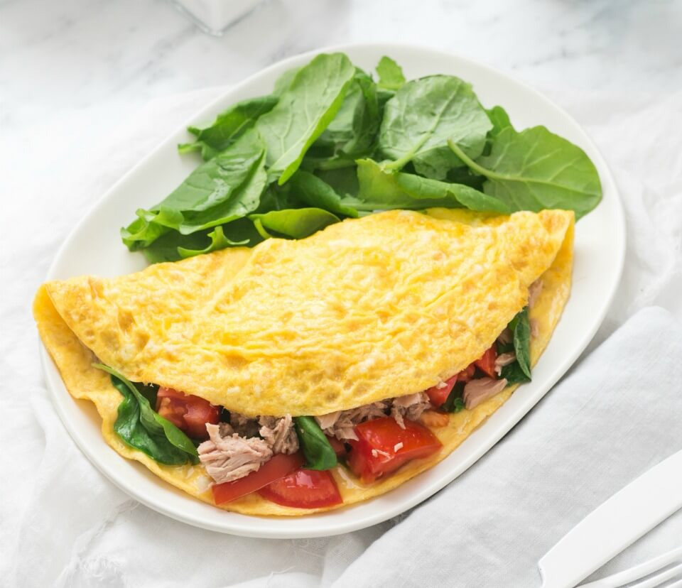 Tuna-Omelette
