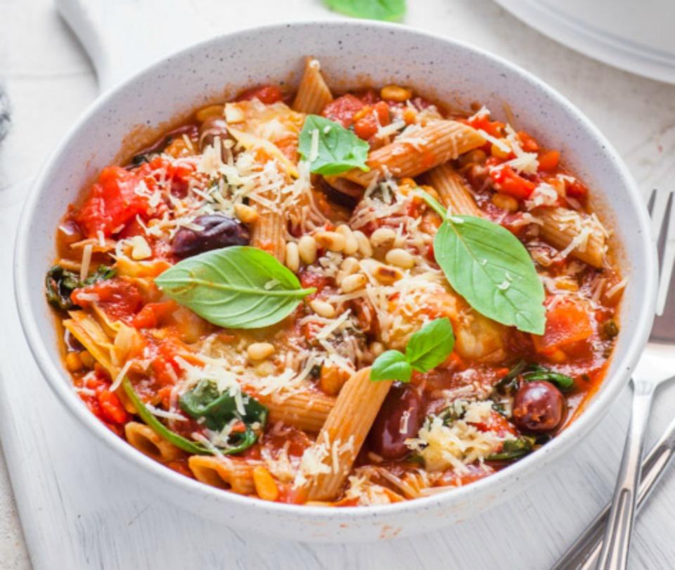 Slow-Cooked-Mediterranean-Pasta
