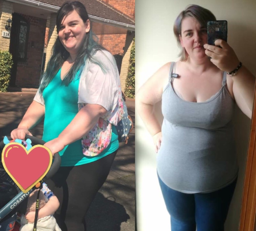 This breastfeeding mum is no longer skipping meals and has lost 1.5 st