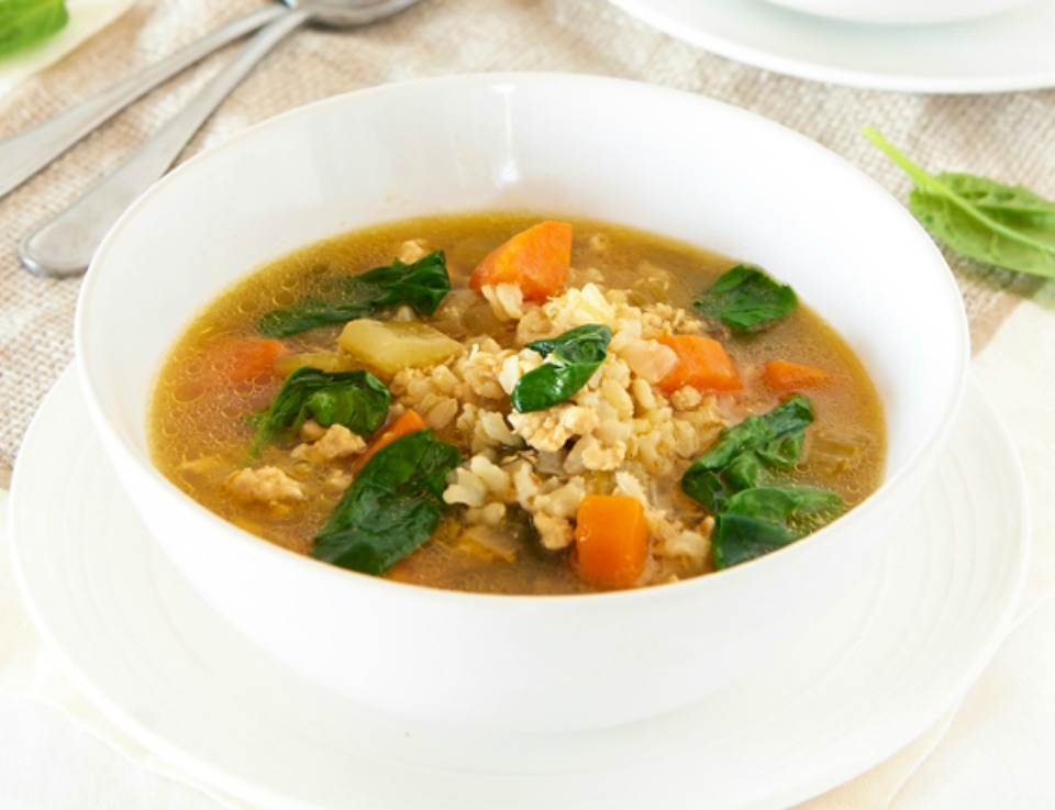 Chicken-Brown-Rice-Soup