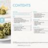 Contents page of savoury snacks ebook