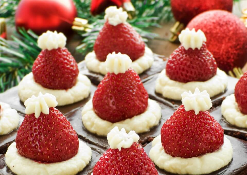 10 healthy Christmas themed snacks for kids
