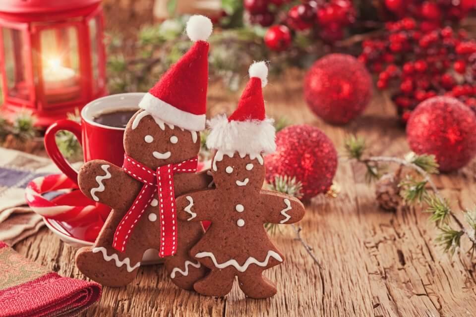 8 low calorie Christmas treats