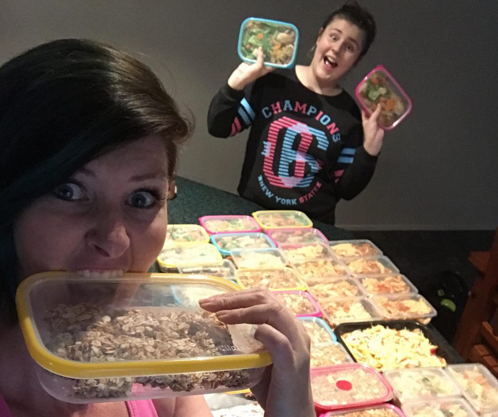 Mum and daughter duo make 200+ meals and snacks on a budget from ONE grocery shop