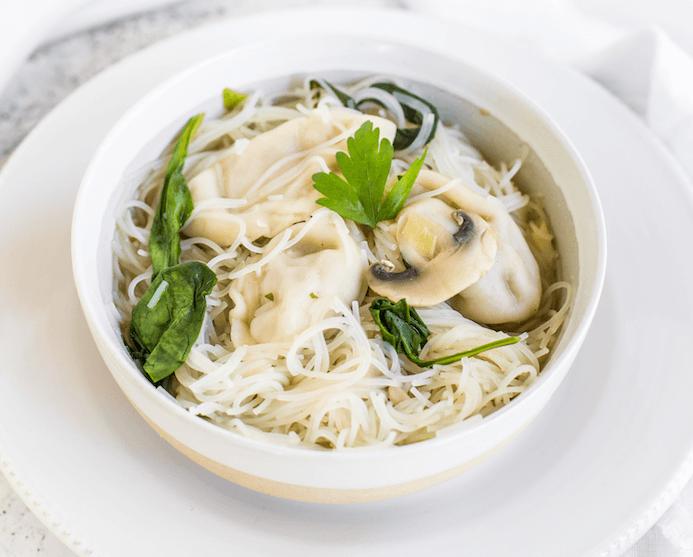Miso Dumpling Soup