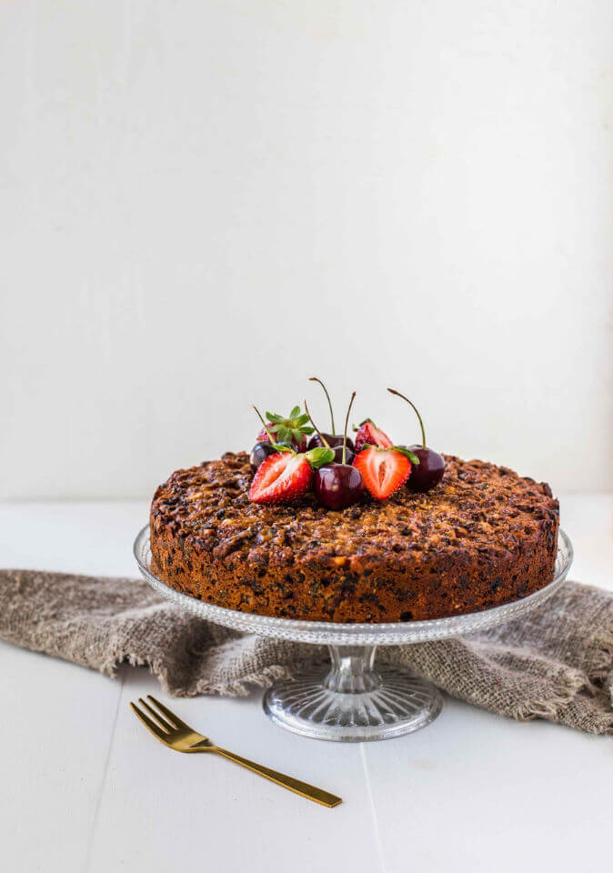 4 ingredients fruit cake