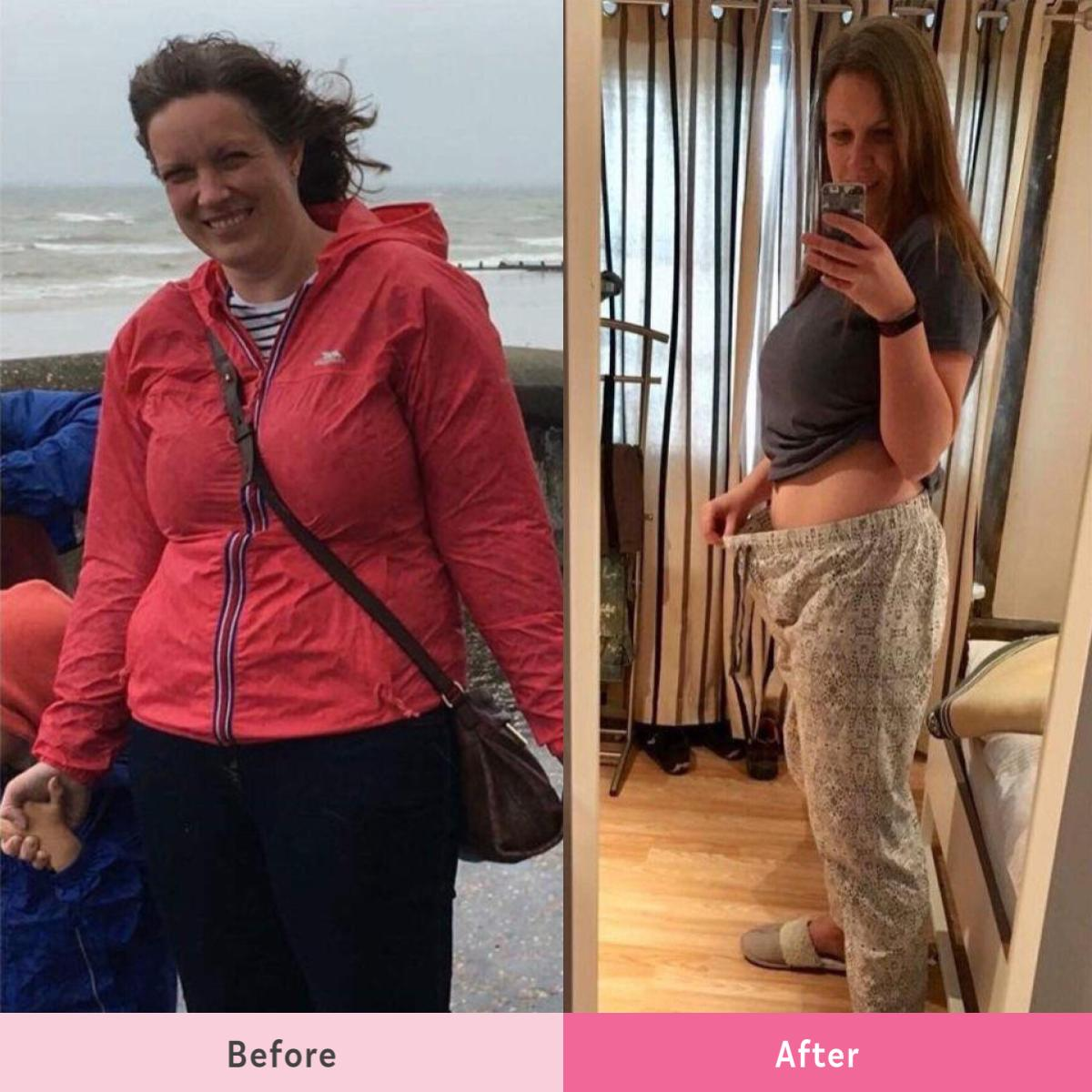 Jenni Hayward's transformation