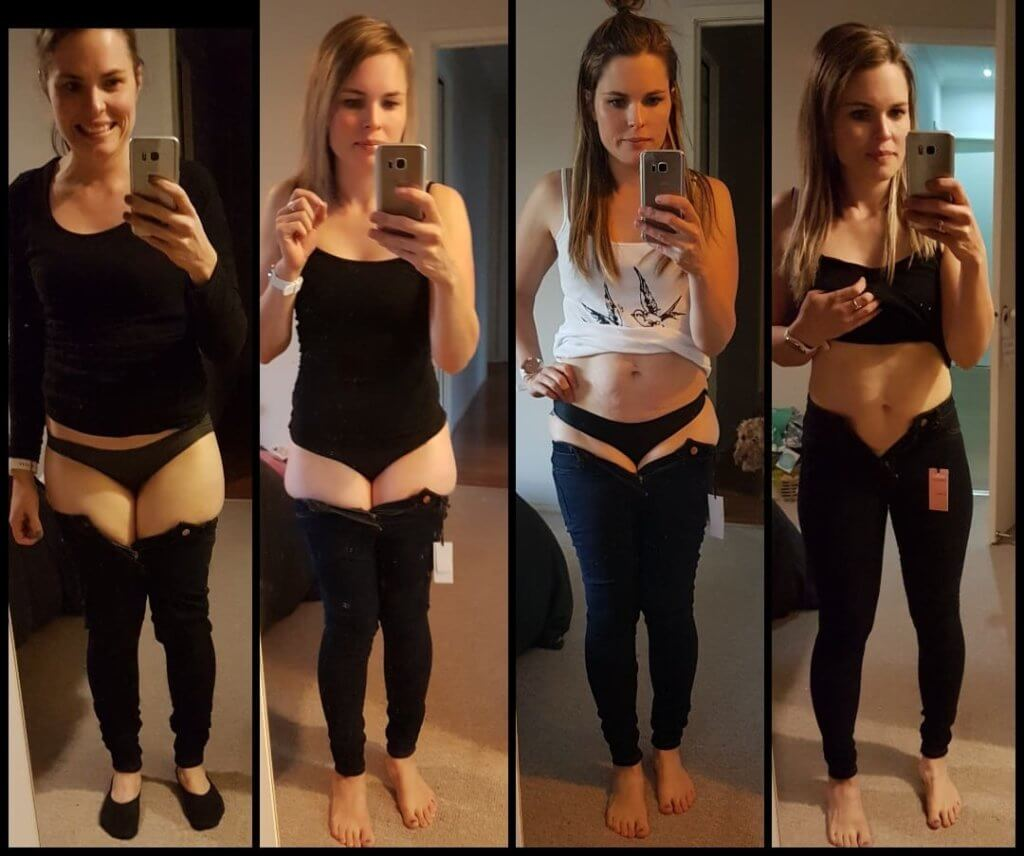 Check out Cassie's 4 week transformation