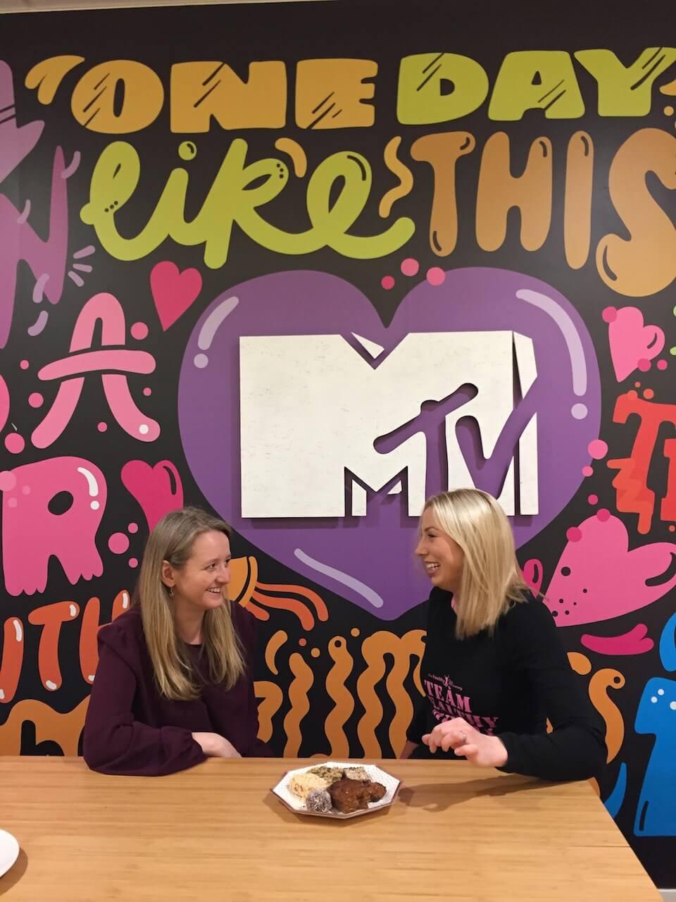 Sarah at MTV