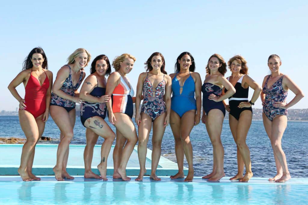 women in swimmers