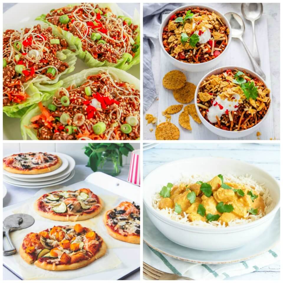 7-family-friendly-dinner-recipes-Collage
