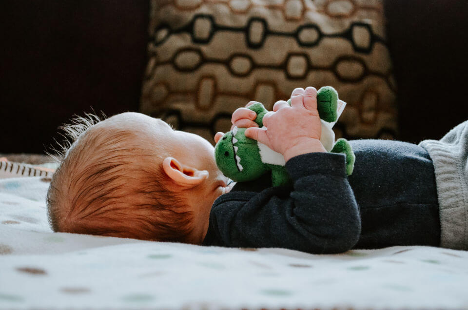 How a comfort toy can help your child with their development