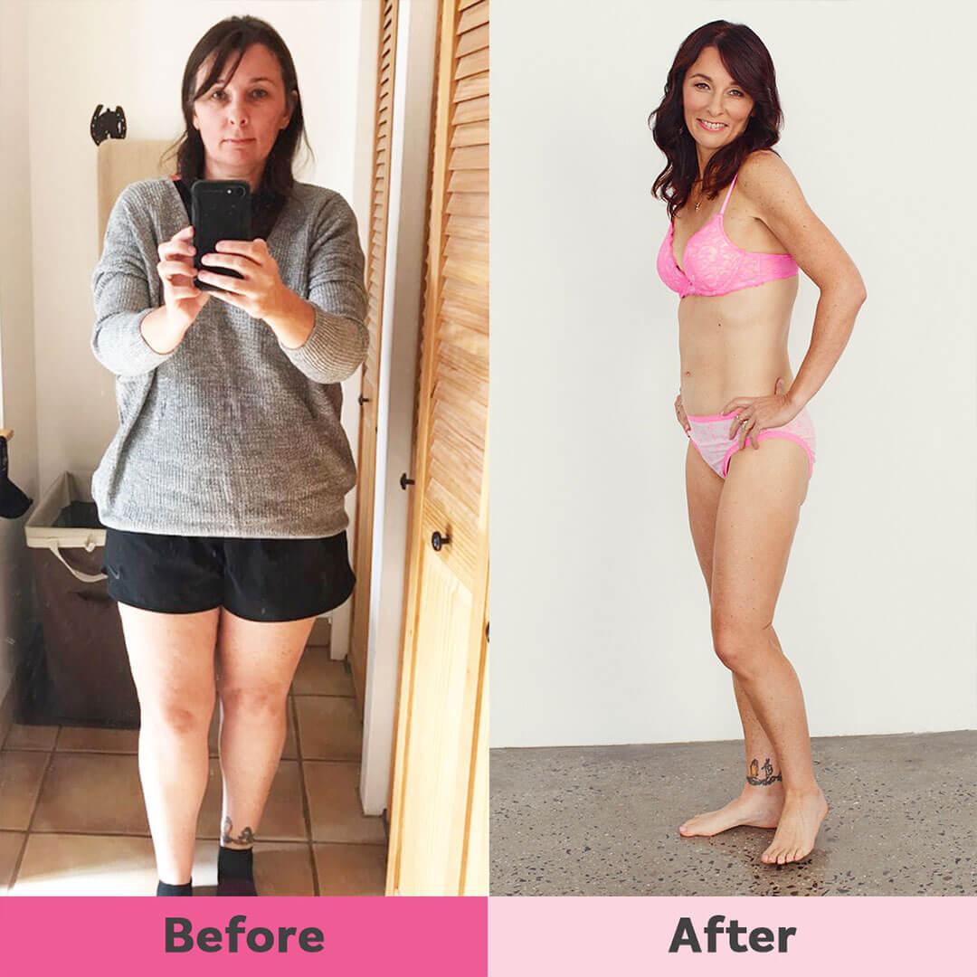 Christine weight loss