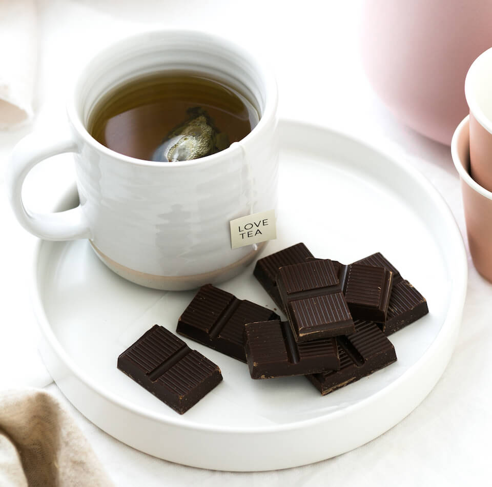 Dark-Chocolate-and-Herbal-Tea-Snack