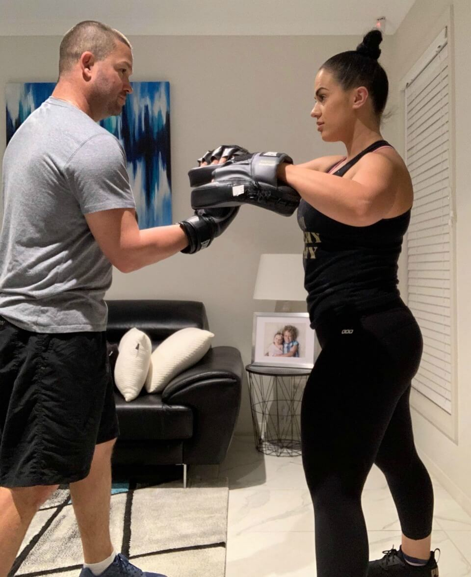Jeff-and-Melissa-Timmer-boxing-workout