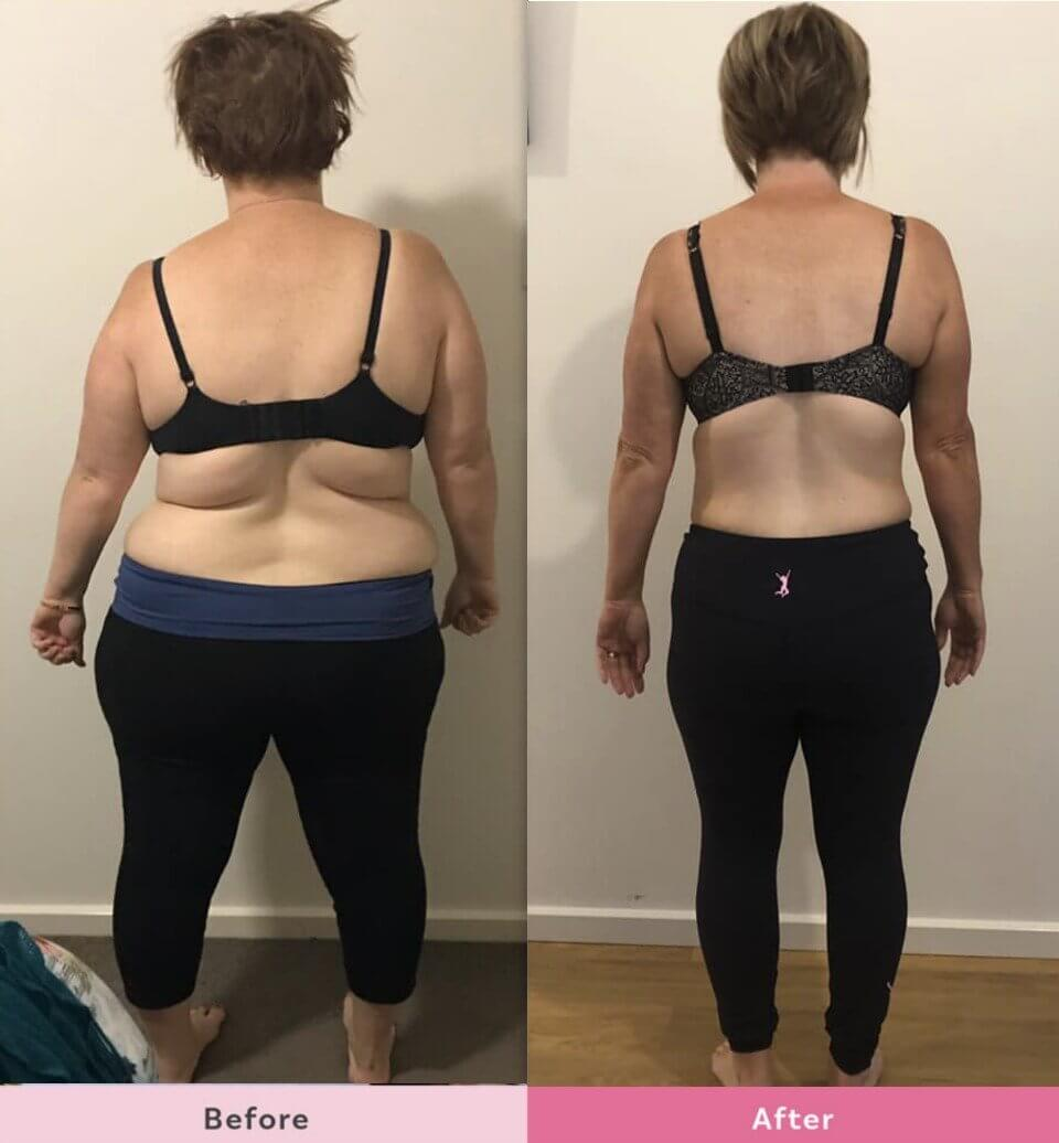 How to lose back fat? Plus 12 mums show you their transformations