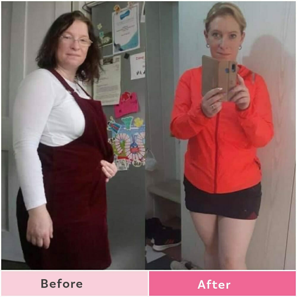 Mum loses 2 stone and drops down from a size 16 to a 10!